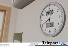 Modern Wall Clock November 2020 Group Gift by taikou - Teleport Hub - teleporthub.com