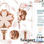 New Release: Sakura Handbag by White Queen @ WIP Event November 2020 - Teleport Hub - teleporthub.com