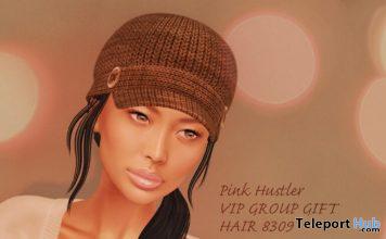 Hair 8309 November 2020 Group Gift by Pink Hustler - Teleport Hub - teleporthub.com