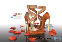 Emma Strap Pumps in Autumnal Colors November 2020 Group Gift by Gos Boutique - Teleport Hub - teleporthub.com