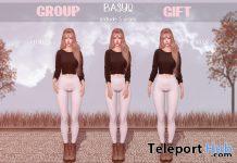 Basyo Poses November 2020 Group Gift by micamee - Teleport Hub - teleporthub.com