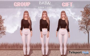 Basyo Poses November 2020 Group Gift by micamee - Teleport Hub - teleporthub.com