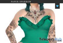 Josie Dress November 2020 Group Gift by Paper.Sparrow - Teleport Hub - teleporthub.com