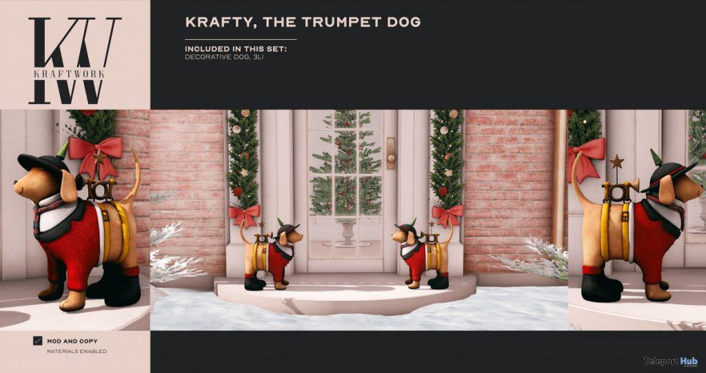 The Trumpet Dog November 2020 Group Gift by KraftWork - Teleport Hub - teleporthub.com