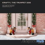 The Trumpet Dog November 2020 Group Gift by KraftWork - Teleport Hub - teleporthub.com