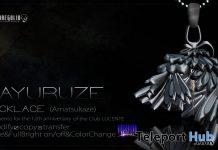 Hayuruze Necklace Club Lucente November 2020 Group Gift by ROZOREGALIA - Teleport Hub - teleporthub.com