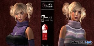 Sweater Dress November 2020 Group Gift by Ahlure - Teleport Hub - teleporthub.com