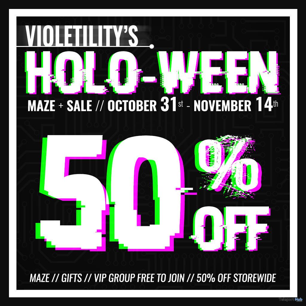 Violetility's Holo-Ween 2020 - Teleport Hub - teleporthub.com