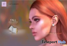Unisex Diamond Earrings November 2020 Group Gift by KYMILE - Teleport Hub - teleporthub.com