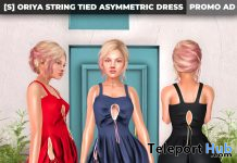 New Release: [S] Oriya String Tied Asymmetric Dress by [satus Inc] - Teleport Hub - teleporthub.com