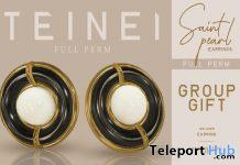 Saint Pearl Earrings Full Perm November 2020 Group Gift by Teinei Store
