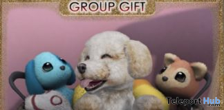 Bichon Basket November 2020 Group Gift by JIAN - Teleport Hub - teleporthub.com
