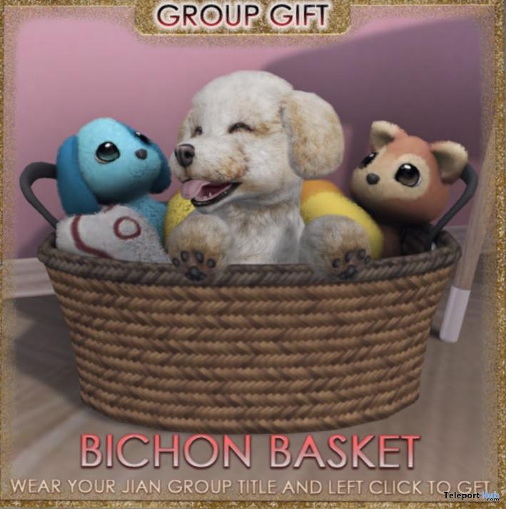 Bichon Basket November 2020 Group Gift by JIAN - Teleport Hub - teleporthub.com