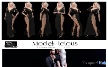 Model-icious & Come Ride with Me Poses November 2020 Group Gift by Something New - Teleport Hub - teleporthub.com