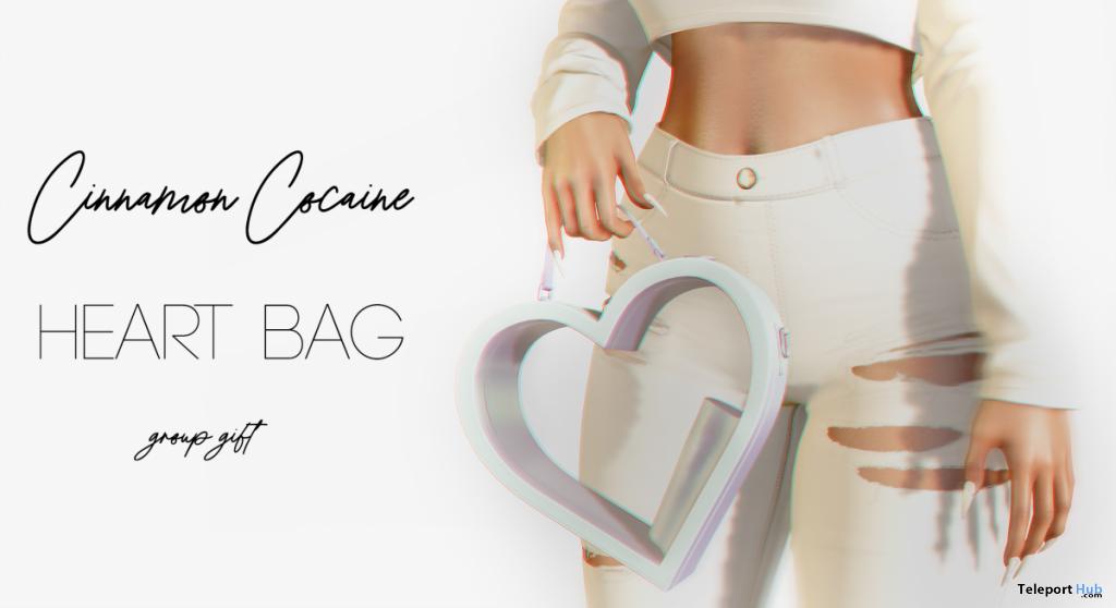 Heart Bag Ice November 2020 Group Gift by Cinnamon Cocaine - Teleport Hub - teleporthub.com