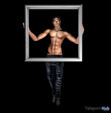 Framed Male Pose November 2020 Group Gift by *AAP* - Teleport Hub - teleporthub.com