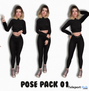 Pose Pack 01 10L Promo by Bourbon Store - Teleport Hub - teleporthub.com