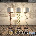 New Release: Helix Floor Lamp by [satus Inc] - Teleport Hub - teleporthub.com