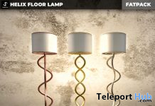 New Release: Helix Floor Lamp by [satus Inc] - Teleport Hub - teleporthub.com