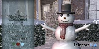 Frosty Inflatable December 2020 Group Gift by Star Sugar - Teleport Hub - teleporthub.com