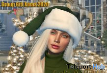 Santa's Hat December 2020 Group Gift by FashionGeekStyle Store - Teleport Hub - teleporthub.com