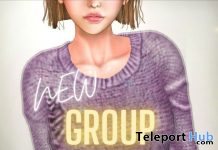 Sweater December 2020 Group Gift by {amiable} - Teleport Hub - teleporthub.com