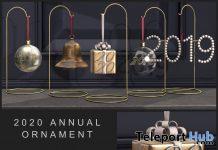 2020 Ornament December 2020 Group Gift by Fancy Decor - Teleport Hub - teleporthub.com