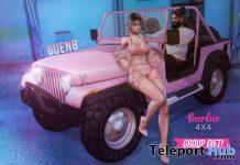 Barbie 4x4 Jeep December 2020 Group Gift by BUENO - Teleport Hub - teleporthub.com