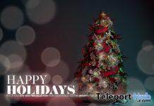 2020 Christmas Tree December 2020 Group Gift by LeLUTKA - Teleport Hub - teleporthub.com