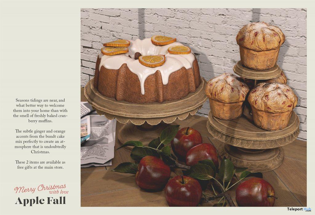 Bundt Cake & Cranberry Muffins December 2020 Gift by Apple Fall - Teleport Hub - teleporthub.com
