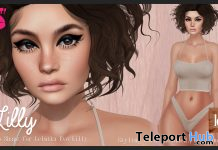 Lilly Shape For Lelutka Lilly Mesh Head 2.5 December 2020 Gift by POUT! - Teleport Hub - teleporthub.com