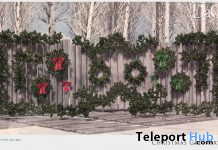 Christmas Greenery December 2020 Group Gift by Domus Aurea Design - Teleport Hub - teleporthub.com