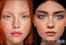 Tilde & Ulrika BOM Skins December 2020 Group Gift by LAQ - Teleport Hub - teleporthub.com