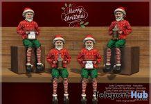 Santa Frame, Whiskey, & Companion December 2020 Group Gift by E-Clipse Design - Teleport Hub - teleporthub.com