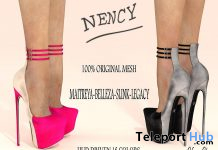 Nency Heels Fatpack December 2020 Group Gift by VeNuS Shoes - Teleport Hub - teleporthub.com