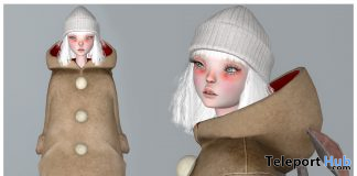 Doll Full Avatar Reindeer Outfit December 2020 Group Gift by COCO Designs - Teleport Hub - teleporthub.com