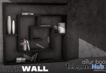 Allur Bookcase December 2020 Group Gift by Fourth Wall - Teleport Hub - teleporthub.com