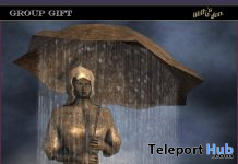 Rainwoman Statue December 2020 Group Gift by Lilith's Den - Teleport Hub - teleporthub.com