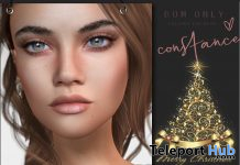 Constance Skin BOM For Lelutka Evo Mesh Head Christmas 2020 Group Gift by DS'ELLES - Teleport Hub - teleporthub.com