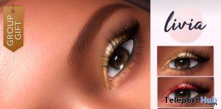 Festive Eyeshadow Genus & BOM December 2020 Group Gift by LIVIA - Teleport Hub - teleporthub.com