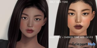 Skin Tone Addon BOM December 2020 Group Gift by MUDSKIN - Teleport Hub - teleporthub.com