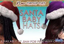 Santa Baby Hats December 2020 Group Gift by JIAN - Teleport Hub - teleporthub.com