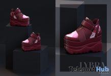 Chija Sneakers December 2020 Group Gift by LYBRA - Teleport Hub - teleporthub.com