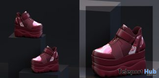 Chija Sneakers December 2020 Group Gift by LYBRA - Teleport Hub - teleporthub.com