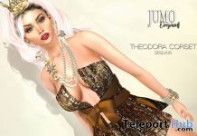 Theodora Corset Sequins New Year 2021 Gift by JUMO Originals - Teleport Hub - teleporthub.com