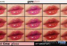First Time Gloss Lipsticks December 2020 Group Gift by GOREGLAM - Teleport Hub - teleporthub.com