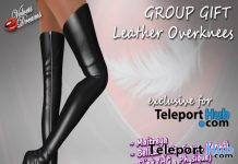 Leather Overknees Boots Fatpack Teleport Hub Group Gift by Velvets Dreams - Teleport Hub - teleporthub.com