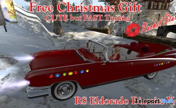 RS Eldorado Biarritz Car X-MAS Edition December 2020 Gift by CUTE but Fast Tuning - Teleport Hub - teleporthub.com