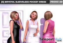 New Release: [S] Brystol Sleeveless Pocket Dress by [satus Inc] - Teleport Hub - teleporthub.com