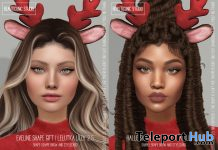 Eveline and Halle Shape December 2020 Group Gift by Beauticonic Studio - Teleport Hub - teleporthub.com